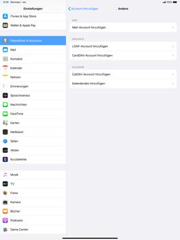 Apple iPad Pro 12.9 (2018) - ipados 13 - E-Mail - Manuelle Konfiguration - Schritt 6