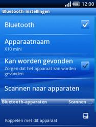 Sony Ericsson Xperia X10 Mini - Bluetooth - headset, carkit verbinding - Stap 7