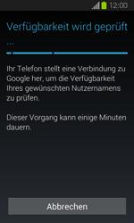 Samsung Galaxy Express - Apps - Einrichten des App Stores - Schritt 8