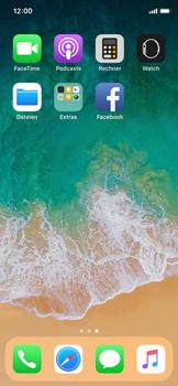 Apple iPhone X - iOS 11 - Automatisches Ausfüllen der Anmeldedaten - 3 / 8