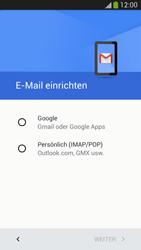 Samsung I9505 Galaxy S4 LTE - E-Mail - Konto einrichten (gmail) - Schritt 7