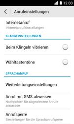 Huawei Ascend Y330 - Anrufe - Rufumleitungen setzen und löschen - Schritt 5