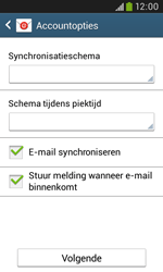 Samsung Galaxy Trend Plus (S7580) - E-mail - Account instellen (IMAP met SMTP-verificatie) - Stap 18