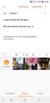 Samsung Galaxy A6 - E-mail - hoe te versturen - Stap 13