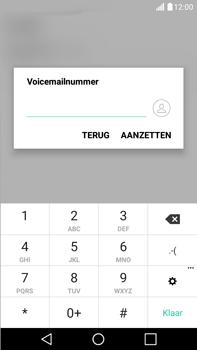 LG K520 Stylus 2 DAB+ - Voicemail - Handmatig instellen - Stap 8