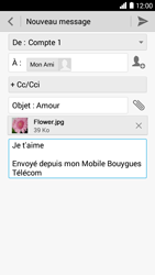 Bouygues Telecom Ultym 5 - E-mails - Envoyer un e-mail - Étape 14