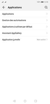 Huawei P20 - Android Pie - Applications - Comment désinstaller une application - Étape 4