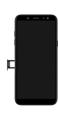 Samsung galaxy-a6-sm-a600fn-ds-android-pie - Instellingen aanpassen - SIM-Kaart plaatsen - Stap 3