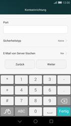 Huawei Ascend G7 - E-Mail - Konto einrichten - 0 / 0