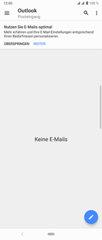 Sony Xperia 10 Plus - E-Mail - Konto einrichten (outlook) - Schritt 5