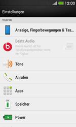 HTC Desire 500 - Anrufe - Rufumleitungen setzen und löschen - 4 / 9