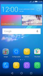 Huawei Y6 - Primeiros passos - Como encontrar o número de IMEI do seu aparelho - Etapa 1