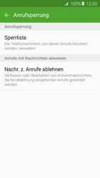 Samsung Galaxy A3 (2016) - Anrufe - Anrufe blockieren - 0 / 0