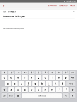 Samsung T815 Galaxy Tab S2 9.7 - E-mail - E-mails verzenden - Stap 10
