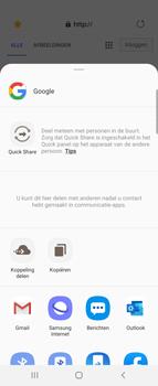 Samsung Galaxy Z Flip - internet - hoe te internetten - stap 20