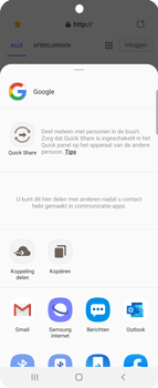 Samsung Galaxy Z Flip Single-SIM + eSIM (SM-F700F) - Internet - Hoe te internetten - Stap 20