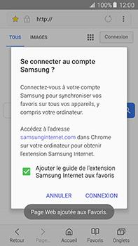 Samsung Galaxy A8 - Internet et roaming de données - Navigation sur Internet - Étape 10