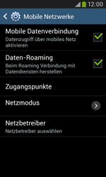 Samsung Galaxy Grand Neo - Ausland - Im Ausland surfen – Datenroaming - 10 / 12