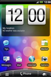 HTC A510e Wildfire S - Internet - Internet browsing - Step 1