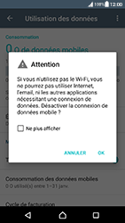 Sony Xperia XA (F3111) - Android Nougat - Internet - Désactiver les données mobiles - Étape 6