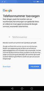 Huawei P20 Pro - Applicaties - Account instellen - Stap 13