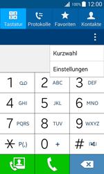 Samsung Galaxy J1 - Anrufe - Rufumleitungen setzen und löschen - 5 / 13