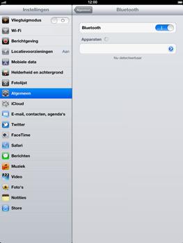 Apple The New iPad - Bluetooth - headset, carkit verbinding - Stap 9