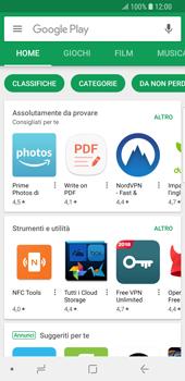 Samsung Galaxy S9 - Applicazioni - Installazione delle applicazioni - Fase 4