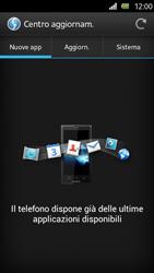 Sony Xperia U - Software - Installazione degli aggiornamenti software - Fase 7