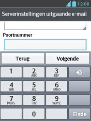 LG E430 Optimus L3 II - E-mail - e-mail instellen: IMAP (aanbevolen) - Stap 16