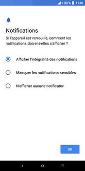 Alcatel 3L - Sécuriser votre mobile - Activer le code de verrouillage - Étape 12