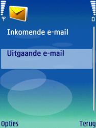 Nokia N73 - E-mail - Handmatig instellen - Stap 22