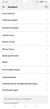 Huawei P30 Pro - Data - Maak een back-up met je account - Stap 4
