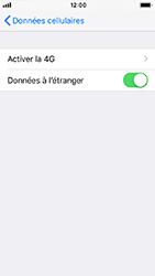 Apple iPhone 5s - iOS 12 - Internet - Désactiver du roaming de données - Étape 5