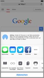Apple iPhone 6 Plus iOS 8 - Internet und Datenroaming - Verwenden des Internets - Schritt 7