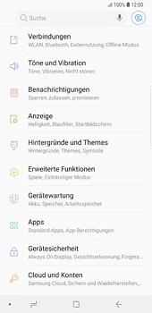 Samsung Galaxy S8 Plus - Android Oreo - Ausland - Auslandskosten vermeiden - Schritt 6