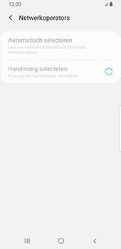 Samsung galaxy-s9-sm-g960f-android-pie - Netwerk selecteren - Handmatig een netwerk selecteren - Stap 10