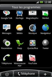 HTC A6262 Hero - Internet - Configuration manuelle - Étape 3