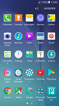 Samsung Galaxy A8 - Applications - Installation d