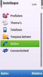 Nokia C6-00 - Voicemail - handmatig instellen - Stap 5