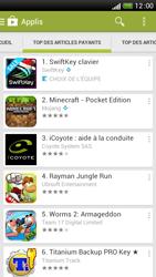 HTC One S - Applications - Télécharger une application - Étape 6