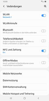 Samsung Galaxy S9 Plus - Android Pie - WiFi - WiFi Calling aktivieren - Schritt 6