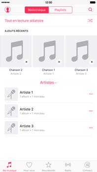 Apple iPhone 6s Plus - Photos, vidéos, musique - Ecouter de la musique - Étape 3