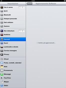 Apple iPad mini - Software - Installazione degli aggiornamenti software - Fase 7