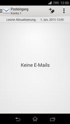 Sony Xperia E3 - E-Mail - E-Mail versenden - 0 / 0
