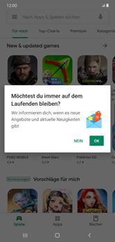 Samsung Galaxy Note 10 Plus 5G - Apps - Einrichten des App Stores - Schritt 21