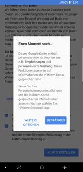 Samsung Galaxy S8 Plus - Apps - Konto anlegen und einrichten - 17 / 21