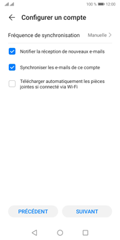 Huawei Y5P - E-mails - Ajouter ou modifier votre compte Yahoo - Étape 7