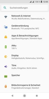 Sony Xperia L3 - Netzwerk - Netzwerkeinstellungen ändern - Schritt 4