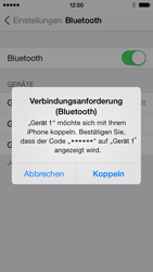 Apple iPhone 5c - Bluetooth - Geräte koppeln - 8 / 10